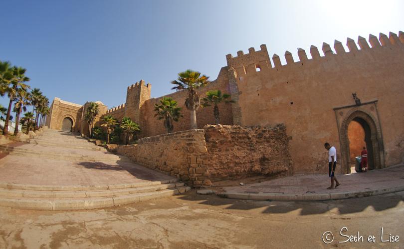 kasbah oudayas forteresse rabat