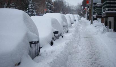 tempete neige montreal fevrier 2017