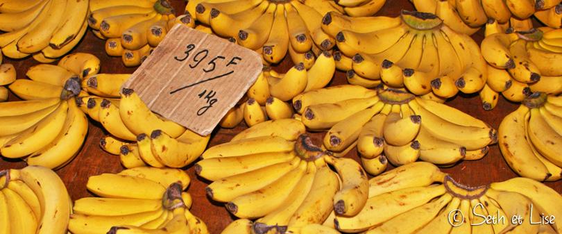 banane marché nouvelle-calédonie