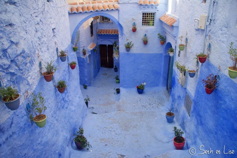 Chefchaouen, perle bleue du Nord du Maroc
