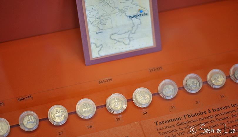 monnaie empire rome musée redpath montreal