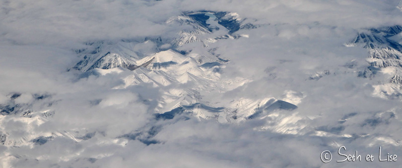 Le Nord du Canada vu du ciel