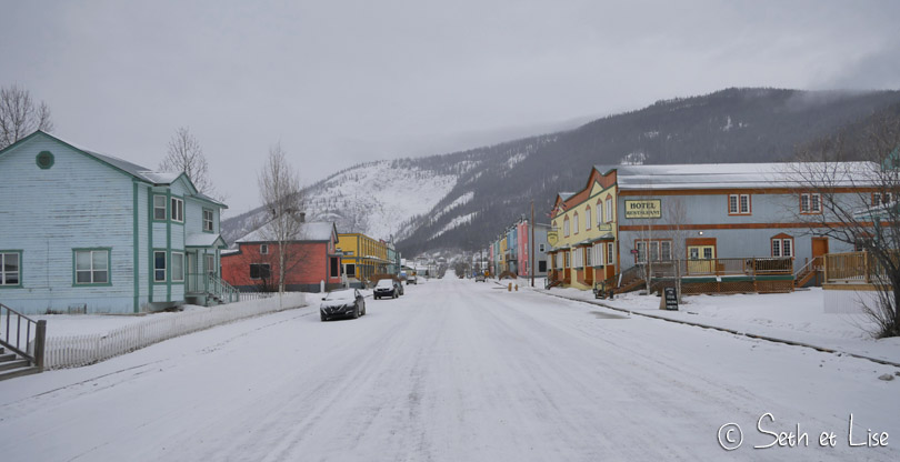 On arrive à Dawson City