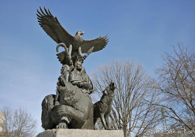 first nation sculpture