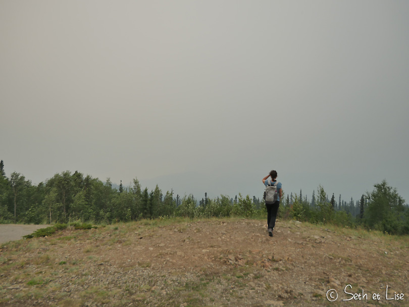 dome smoke girl dawson yukon
