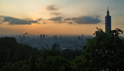 taipei skyline building