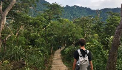 trek taipei randonnée jungle taiwan