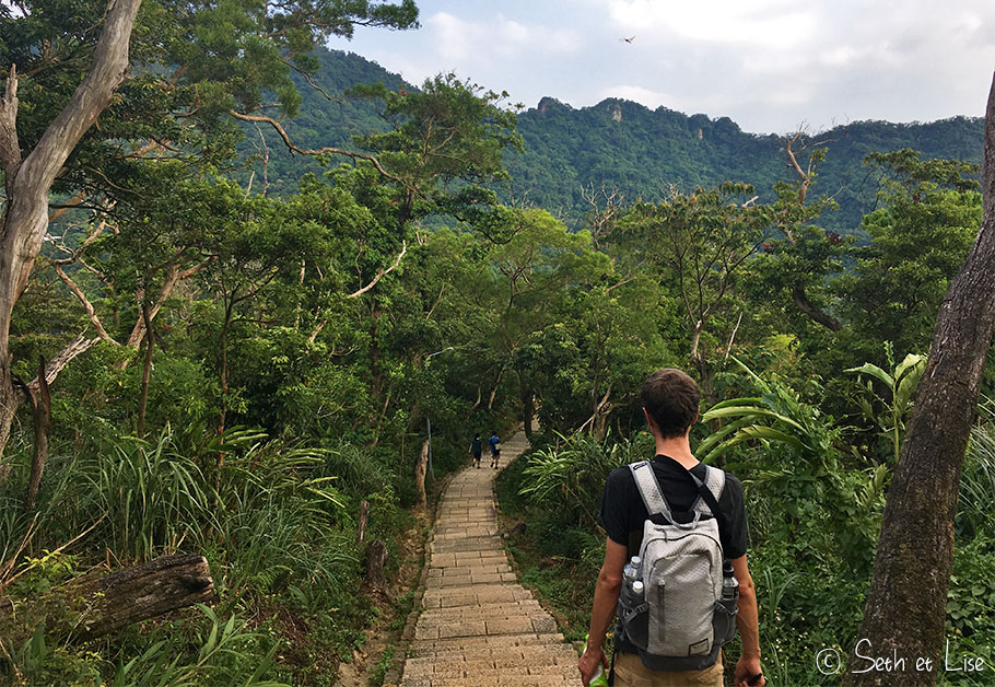 Montagne de l'éléphant à Taipei