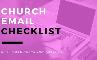 Writing a Church Email That Gets Opened [Checklist]