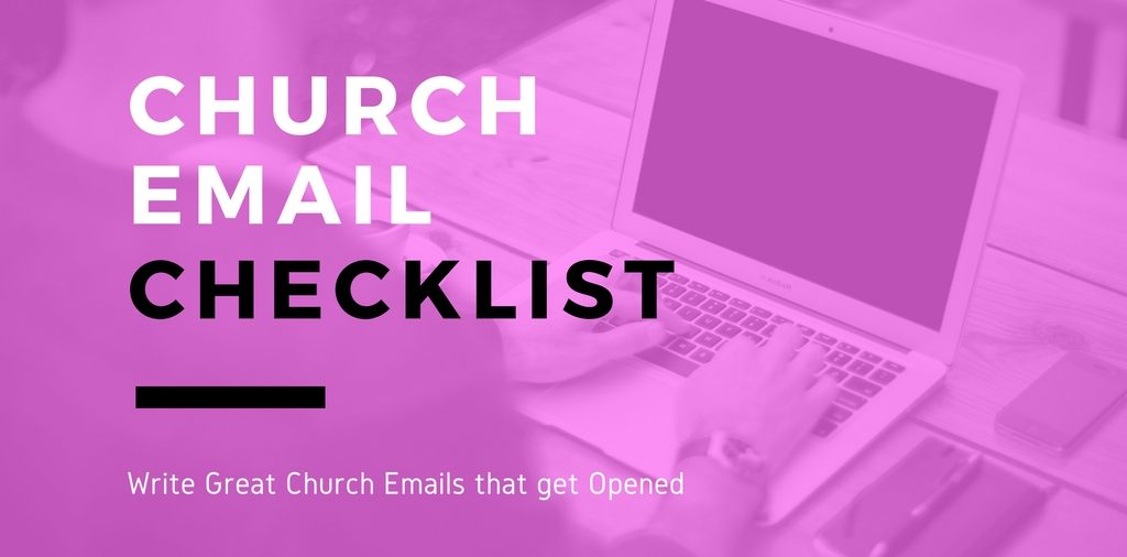 write great church emails that get opened and read