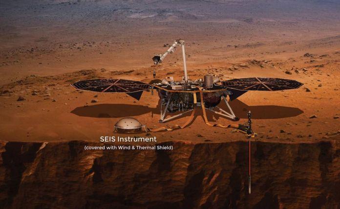 La NASA InSight rileva più terremoti marziani |  Istituto SETI