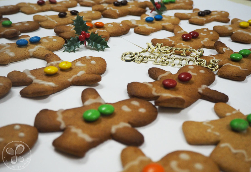 Simple Gingerbread Men Recipe For A Huge Merry Christmas Giveaway