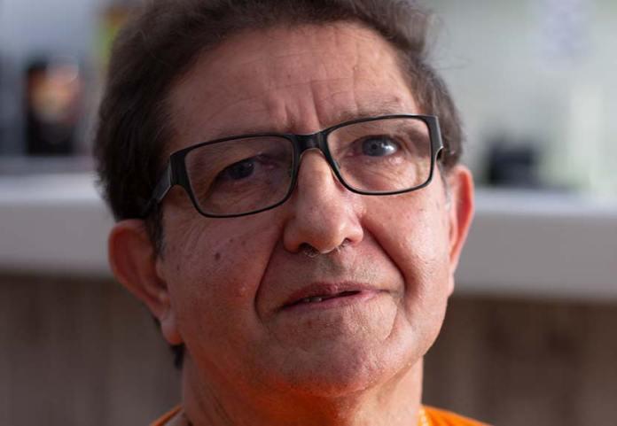 Imatge de l'entrevista de Joan Mas Sagrera