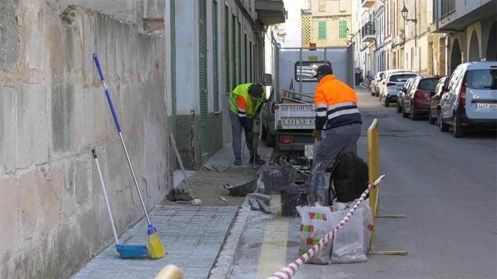 obres al municipi de felanitx