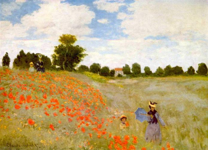 Les roselles, Claude Monet (1873)