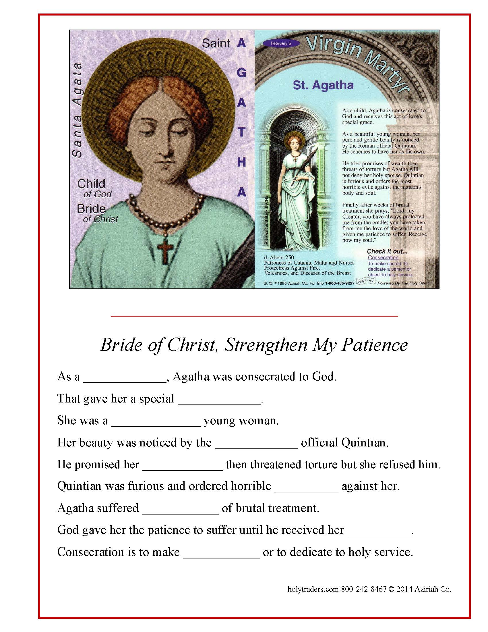 Preview Holy Traders Set 2 Activity Pages