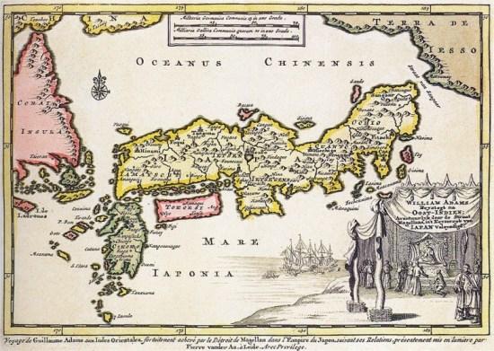 Japon, circa 1707