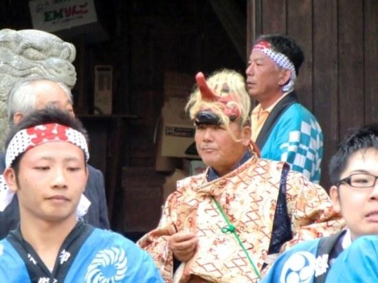 Tengu at Karato Matsuri on Teshima