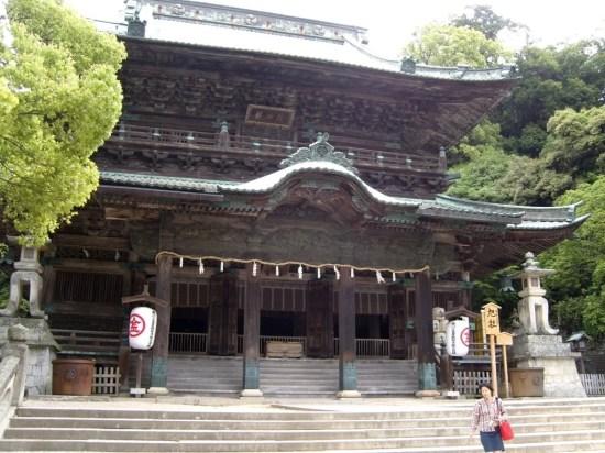 Kotohiragu - main shrine