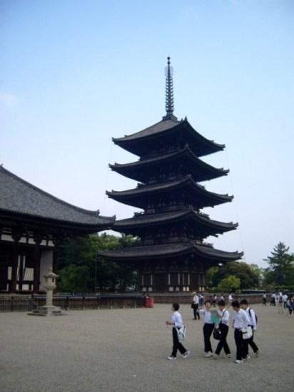 Kōfukuji in Nara