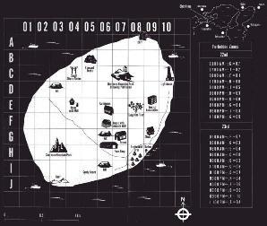 Okishima Map in the Novel