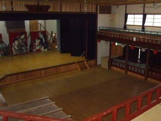 Kabuki Theater in Mima, Tokushima