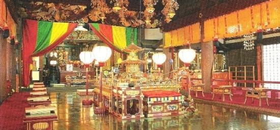 Zentsuji - Inside the Mieido