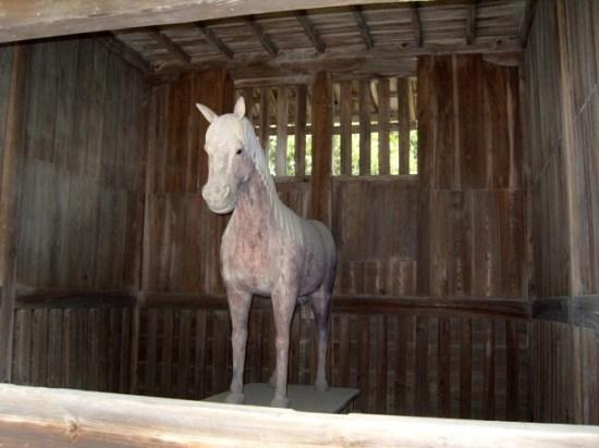 Kotohira-gu Wooden Horse