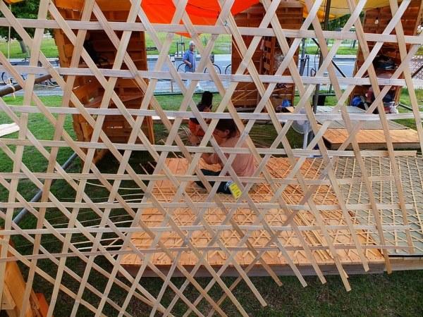 Bengal Island - July 21 - Weaving Weaving 2