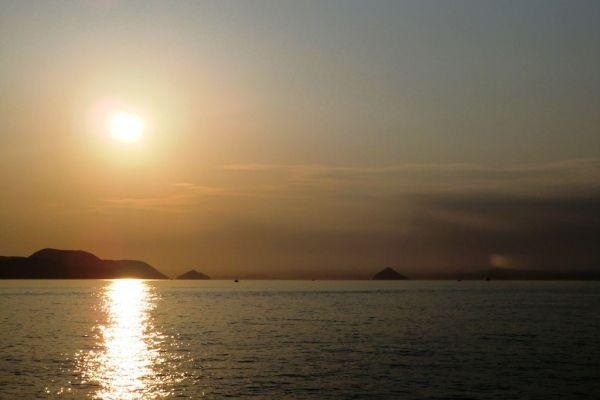 Sunset in Sunport Takamatsu - 2