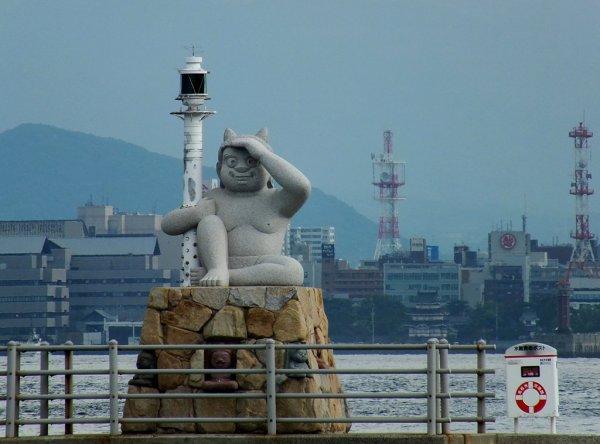 Oni in Megijima's Port