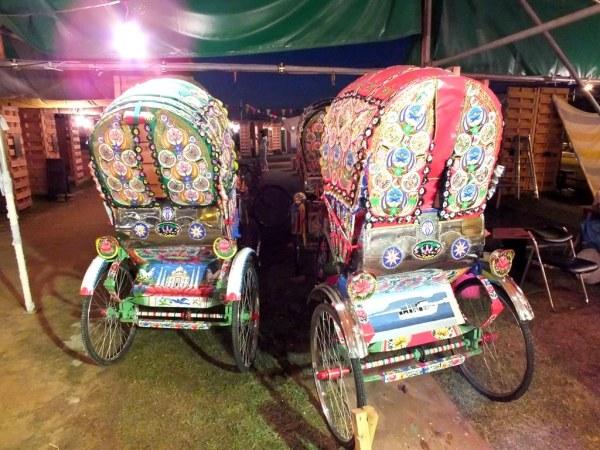 Rickshaw Art - Bengal Island