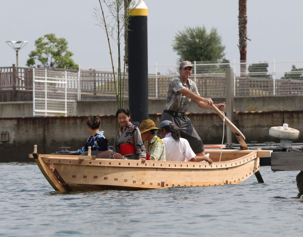Traditional Japanese Boat Launching  - 2