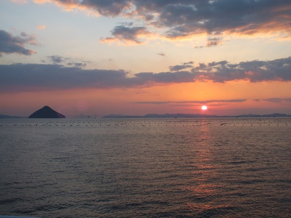 Sunset over Seto Inland Sea - 2