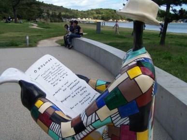 Niki de Saint Phalle - Naoshima - bench - 3