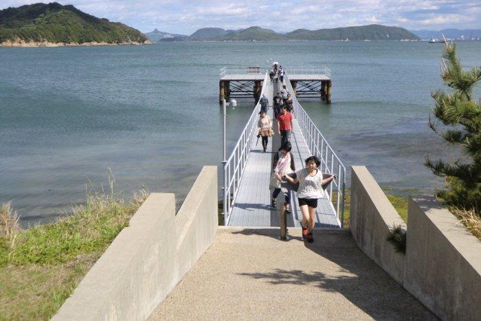 Pier on Naoshima