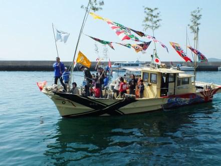 8 - Team Ogi Boat Dance