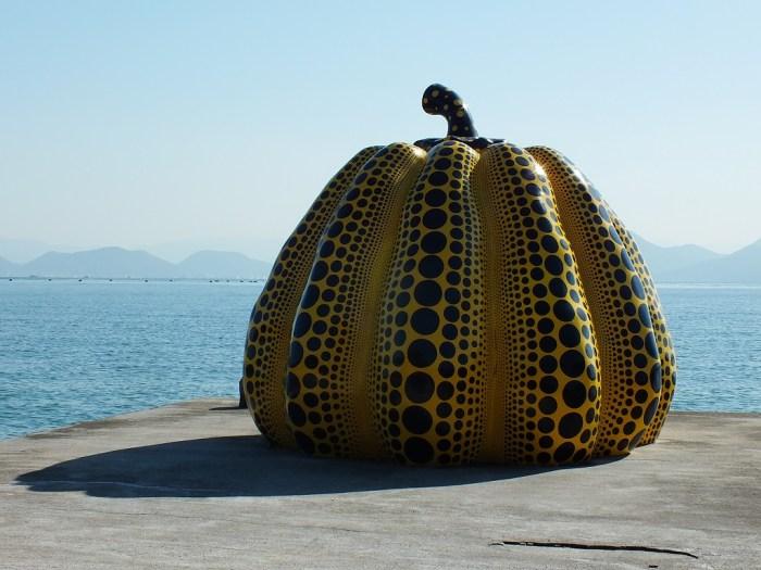 Yellow Pumpkin on Naoshima