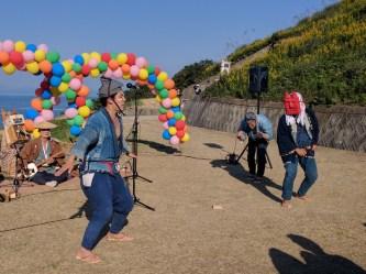 Harvest Festival and Seppuku Pistols on Teshima - 21
