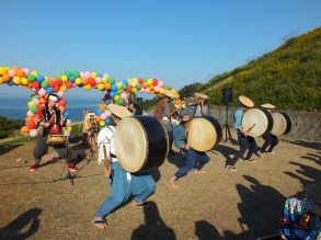 Harvest Festival and Seppuku Pistols on Teshima - 27