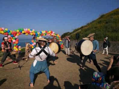 Harvest Festival and Seppuku Pistols on Teshima - 31