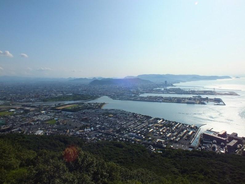 Takamatsu from Yashima - 1