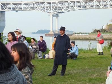 "Fram Kitagawa was there, ""incognito""..."
