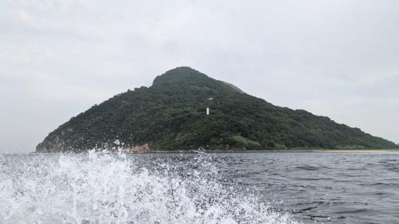 Megijima's tiny lighthouse