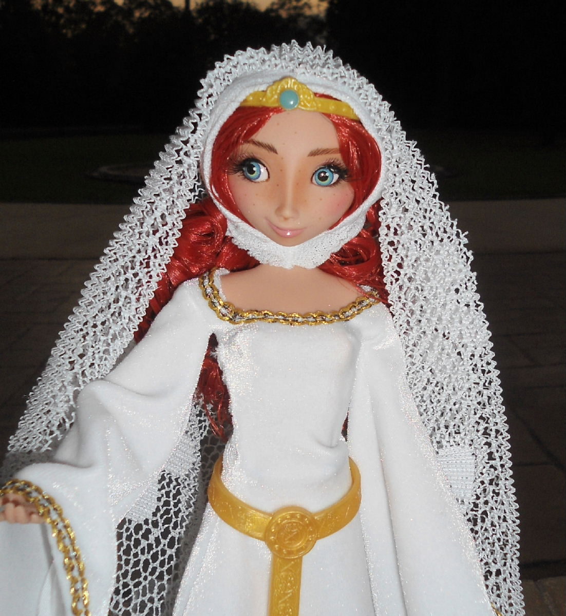 Donald Amp Merida 11 Wedding Doll Set