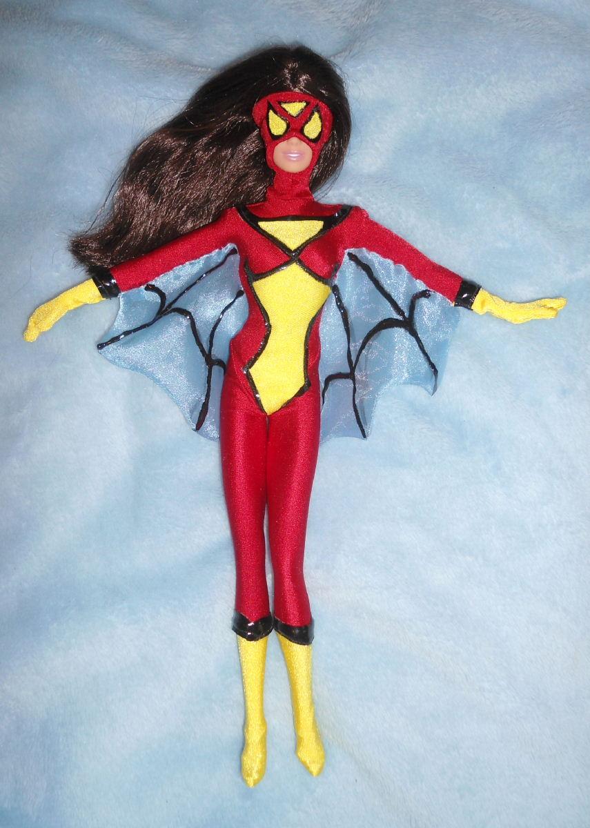 Spiderwoman 11 Doll