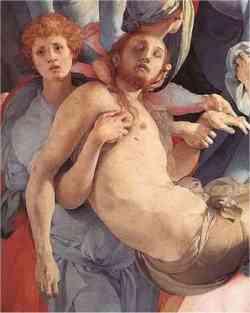 Manierismo - Pontormo - especialmente la deposición 1528