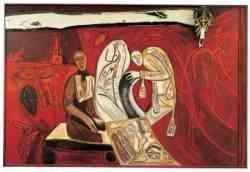 Londra - Tate Gallery - Mimmo Paladino