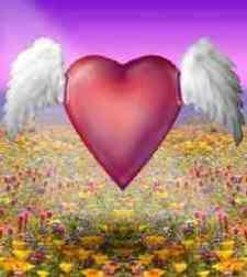 San Valentino, cuore con le ali