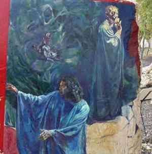 La Divina Comedia - Dante cumple Virgilio